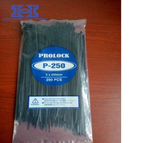 Dây thít nhựa đen 25cm