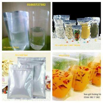 Túi zipper,túi vuốt mép chất lượng tốt, giá rẻ, giao hàng nhanh tại Hà Nội  - 0982373721
